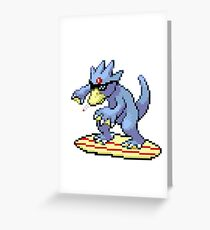 Goldude Greeting Card