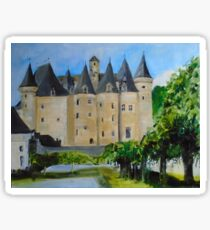 Chateau Jumilhac, France Sticker
