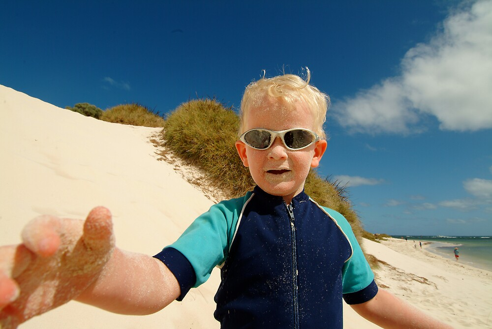 sand dune summer fun by nick page