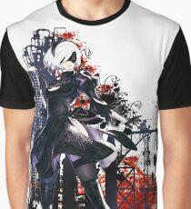 Camiseta gráfica Nier Automata