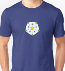 Yorkshire Flag and Rose T-Shirt