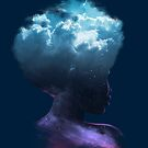 HEAD ON THE CLOUDS by Ilustrata Design