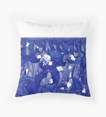 Snail Mail - Waves 2 Throw Pillow