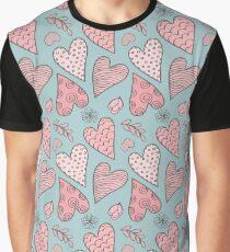 Valentine's Cute Pattern Graphic T-Shirt