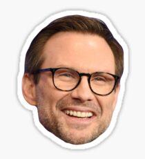 Christian Slater Sticker