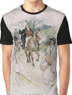 Charles Edmund Brock - Jane Austen She Turned With Surprise Graphic T-Shirt