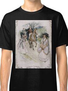 Charles Edmund Brock - Jane Austen She Turned With Surprise Classic T-Shirt