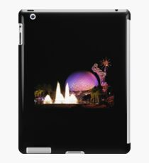 Epcot and Fountain Of Nations iPad Case/Skin