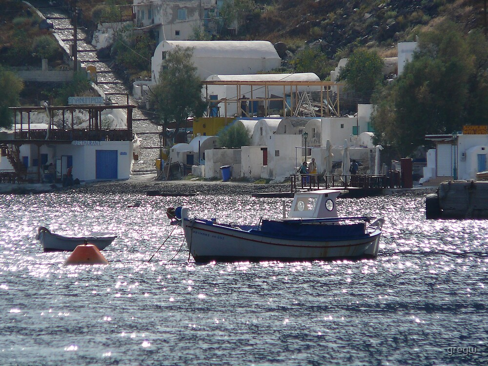 Late Afternoon Santorini by gregw