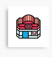 Pokemon Center Canvas Print