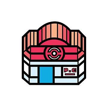 Pokemon Center by SnorlaxBum