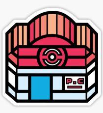 Pokemon Center Sticker