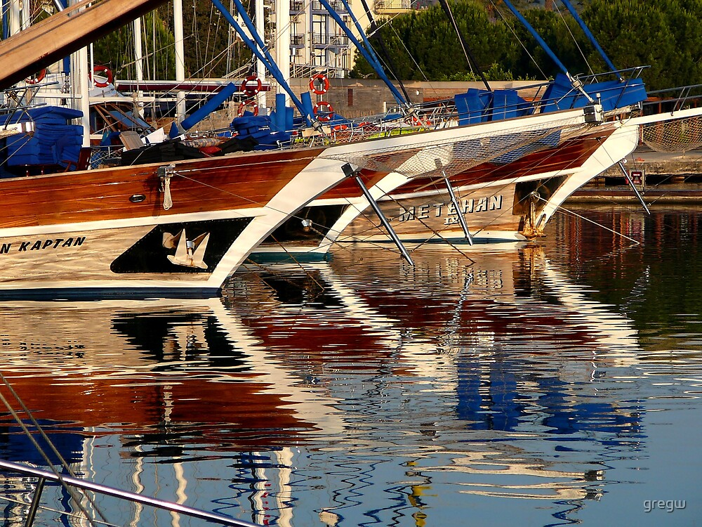 Reflections - Serenity, Turkey by gregw