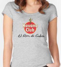 HAVANA CLUB Women's Fitted Scoop T-Shirt