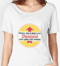 This is what a Feminist Looks Like Women's Relaxed Fit T-Shirt