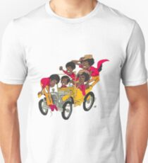 J-5 CARTOON: CAR Unisex T-Shirt