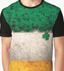st patrick's day patty's day irish flag Graphic T-Shirt