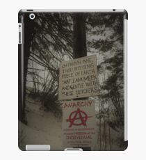 Pardon me, dear earth... iPad Case/Skin