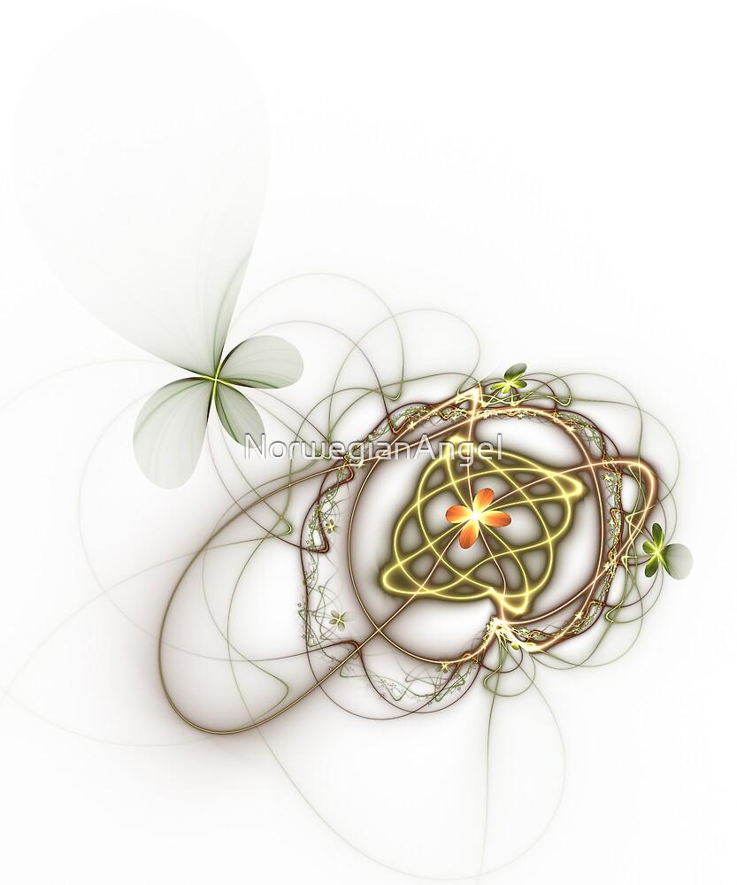Flower Web by NorwegianAngel