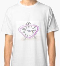 Uhr Biene zu spät  Classic T-Shirt
