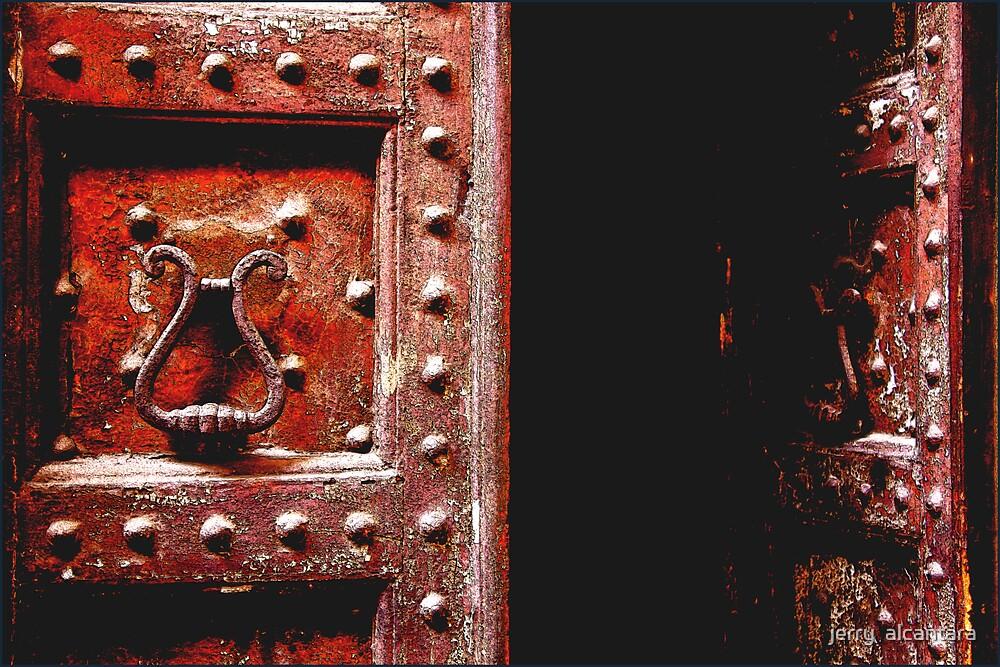 Old Door by jerry  alcantara