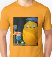 adventure time totoro and finn T-Shirt