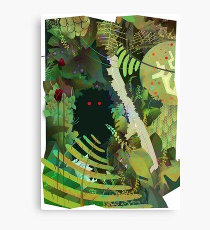 Jungle Monster ! Canvas Print