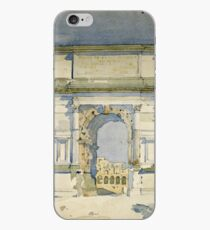 Charles Rennie Mackintosh - Rome, Arch Of Titus iPhone Case