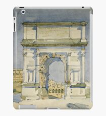 Charles Rennie Mackintosh - Rome, Arch Of Titus iPad Case/Skin