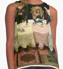 Alice in Wonderland - Cake Version Contrast Tank