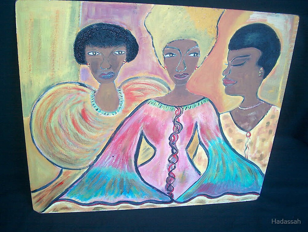 My sister and me by Hadassah