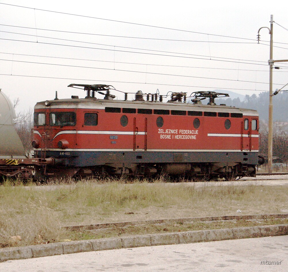 Lost Train by mtamer