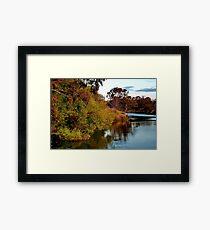 """""""Riverside"""" Framed Print"""