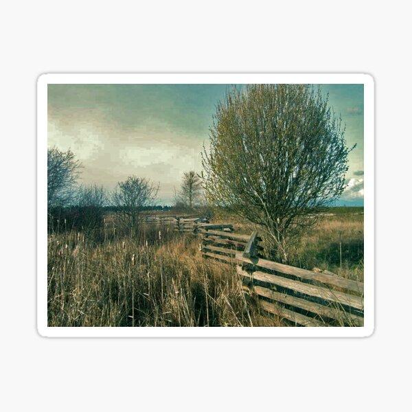 Fence Line Sticker