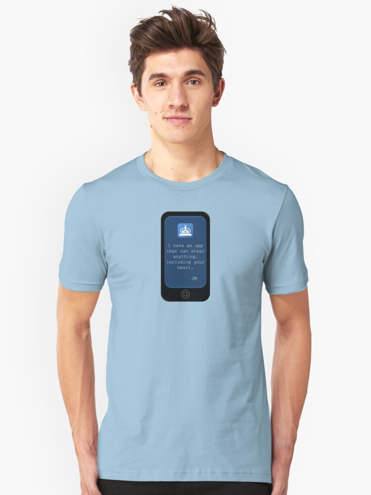 There's an App For That {Phone Design} Unisex T-Shirt Front