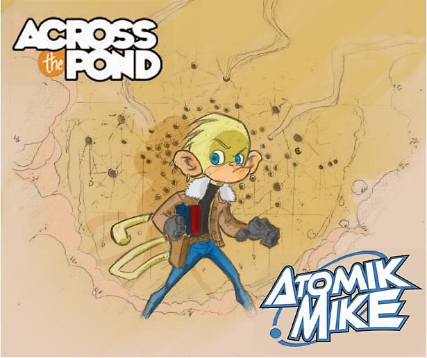 Atomik Mike Promo piece by JORZAC