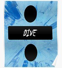 Ed sheeran posters redbubble - Dive lyrics ed sheeran ...