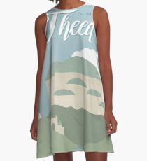 Galactic Travel - Naboo - Theed A-Line Dress