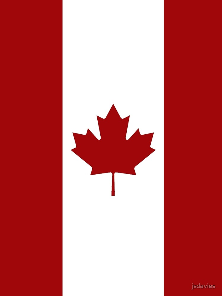 Canada: Canadian Flag (Red & White) by MilitaryCandA