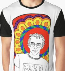 SAINT KEITH HARING Graphic T-Shirt