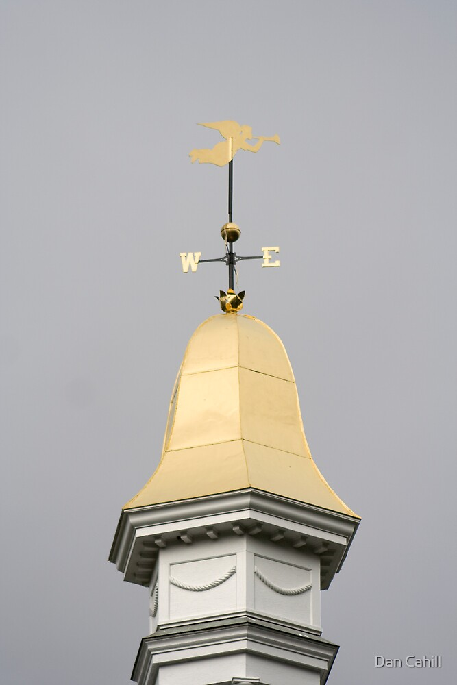 Series:  Weathervanes of New England-  Trumpeting in the Wind by Dan Cahill