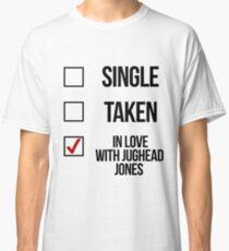 Camiseta clásica Soltero, Tomado, Enamorado de Jughead Jones