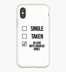 Single, Taken, verliebt in Jughead Jones iPhone-Hülle & Cover