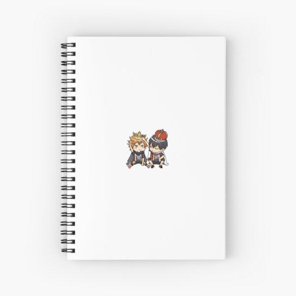 Chibi Haikyuu Spiral Notebook