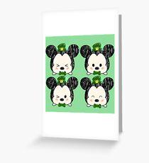 Irish Mouse Tsum Tsum Greeting Card