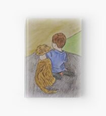 A Dog and Her Boy Hardcover Journal