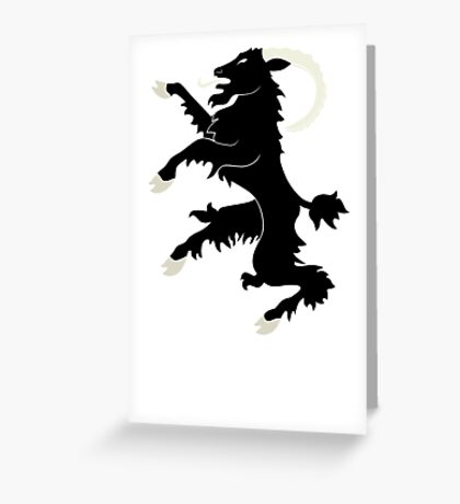 Brave Companions Greeting Card