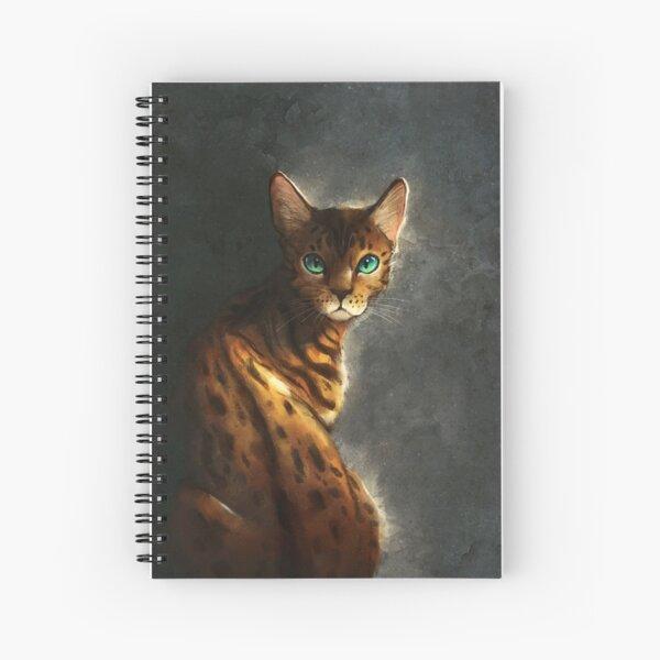 Bengal Cat Spiral Notebook