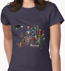 EUROPA - National Personifications Map - 1444 Womens Fitted T-Shirt
