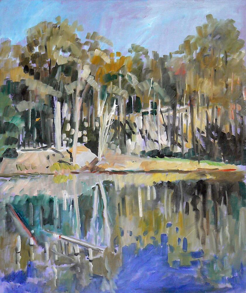 Hemmant Reserve Impression by Paul  Milburn